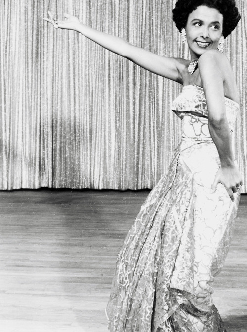 deforest:  Lena Horne performs on stage at The Sands in Las Vegas, June 1955.