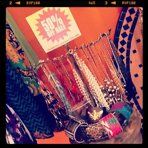 Jewelry. 50% OFF!!! (Taken with Instagram at Fire Finch)