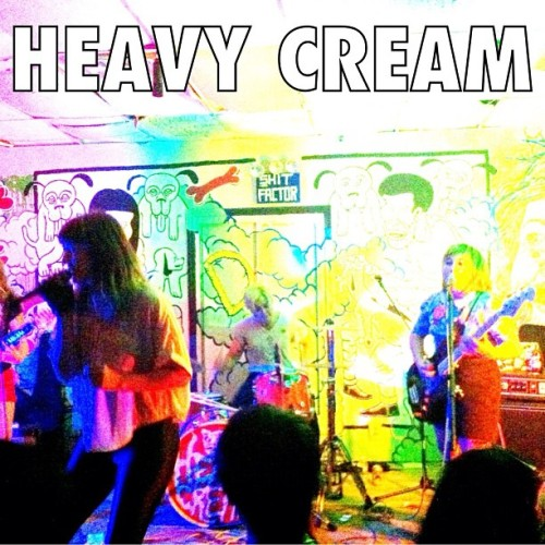 Another shot of Heavy Cream from Monday's show at Death by Audio #heavycream #deathbyaudio (Taken with Instagram)