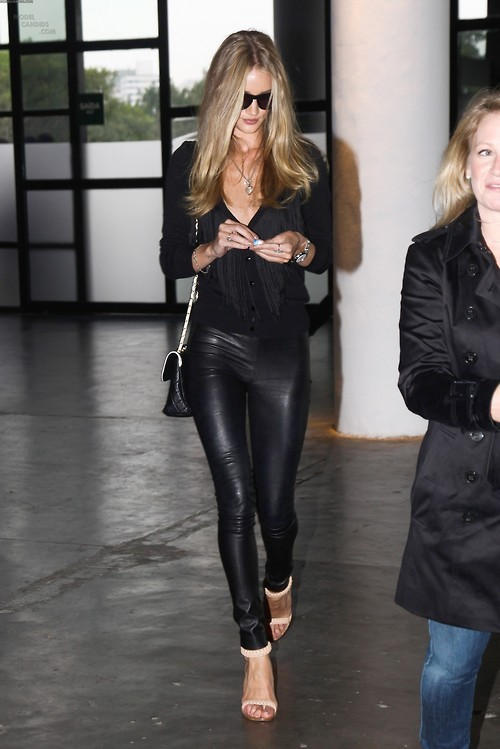 az-uki:  thingsmodelslove:  Models love leather pants - Rosie Huntington Whiteley  where from?!
