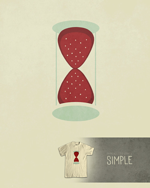 threadless:  Score Strawberry Fields Forever by Jeremy Bingham! Score 50 Loves Simple Designs by 6/27 for the chance at $100 cash! http://jeremybingham.com