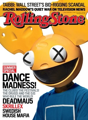 Deadmau5 just keeps getting bigger :D Its Rolling Stone baby!!!!!!!
