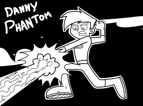 "Danny Phantom coloring page Danny from the episode of Danny Phantom ""Mirco-Management"" Color Away~"