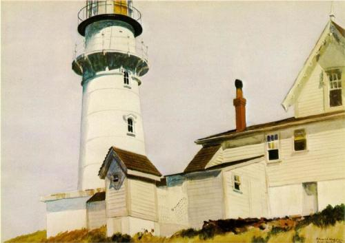 Edward Hopper, Light at Two Lights, 1927.