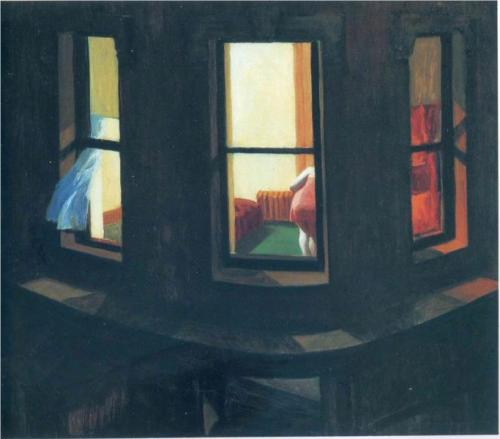 Edward Hopper, Night Windows, 1928.