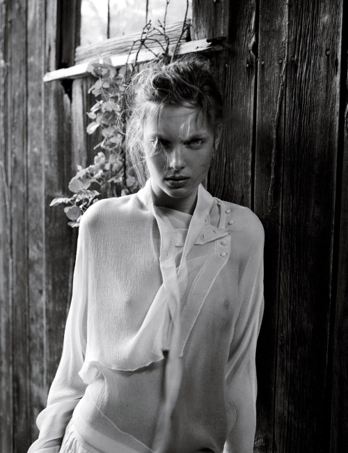 """Delicacy"" Ophelie Rupp by Patrick Demarchelier for Interview June/July 2012"