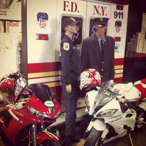 #paramedic #emt #ems #fdny #bike #danger #bronx #newyorkcity #sbx #nyc  (Taken with Instagram at FDNY EMS Station 14)