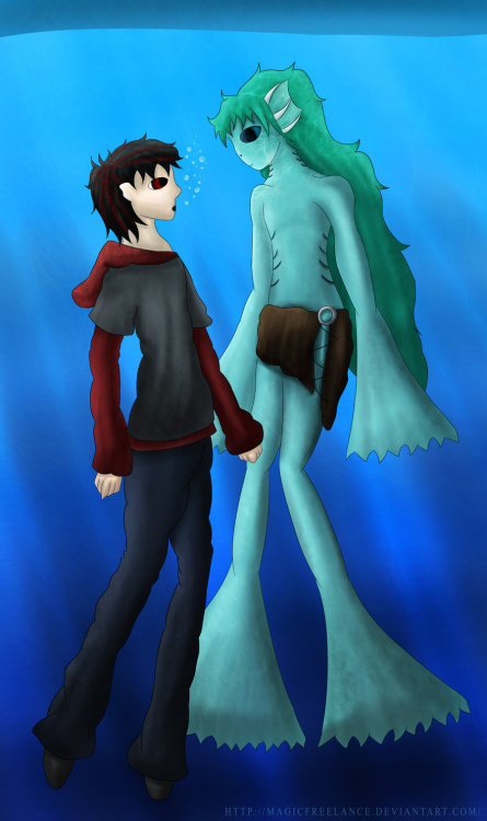Paint SAI and underwater scenes = <3