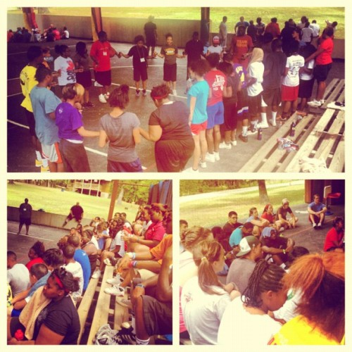 Harambee - our time with our kids at #KAA #camp #yfc #impact  (Taken with Instagram)