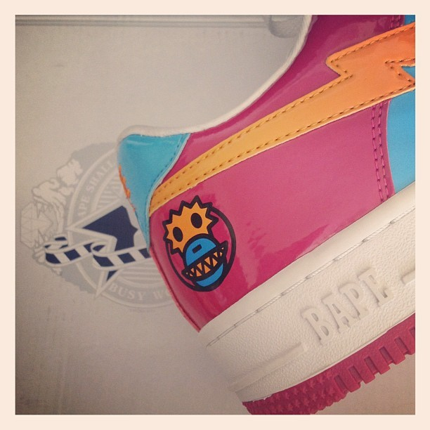 #shoegamefuckedup @abathingape_eu @riflosangeles #rifla (Taken with Instagram)