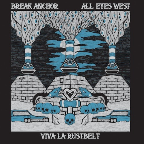 "Break Anchor / All Eyes West - 'Viva La Rustbelt' Split 7"" Out 7/17/12 Jay Navarro's (of The Suicide Machines) new band, Break Anchor, is teaming up with All Eyes West (members of Noise By Numbers) to release a split 7"" titled ""Viva La Rustbelt."" This is scheduled for release on July 17 and the PRE-ORDER is up NOW! TRACKLIST: Side A - Break Anchor1. Sinking My Own Ship 2. Is It The Music Side B - All Eyes West1. West Thirteen2. From Under   Pressing Info: 300 on White Vinyl300 on Blue Vinyl  Both colors available in our Online Store"