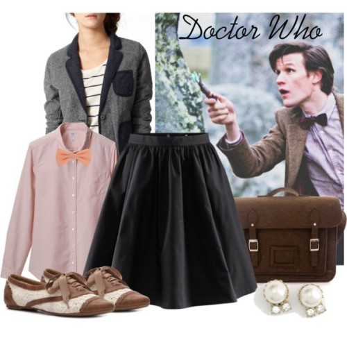 (via Bow Ties are Cool - Polyvore)