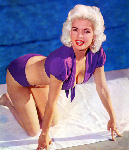 vintagegal:  Jayne Mansfield photographed by Bernard of Hollywood c. 1950's