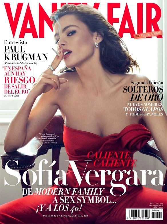 Sofia Vergara Sizzles On The Cover of Vanity Fair España!