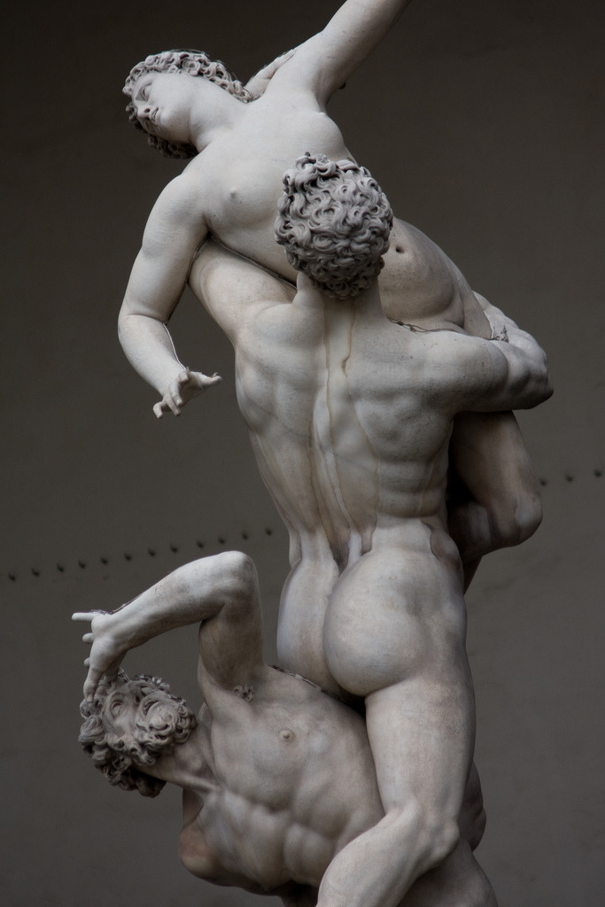 webissance:  The Rape of the Sabine Women - Giambologna, 1574