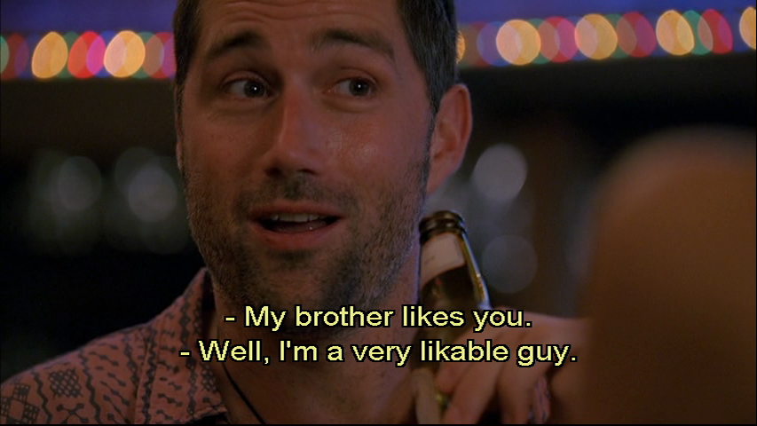 You're really not, Matthew Fox.