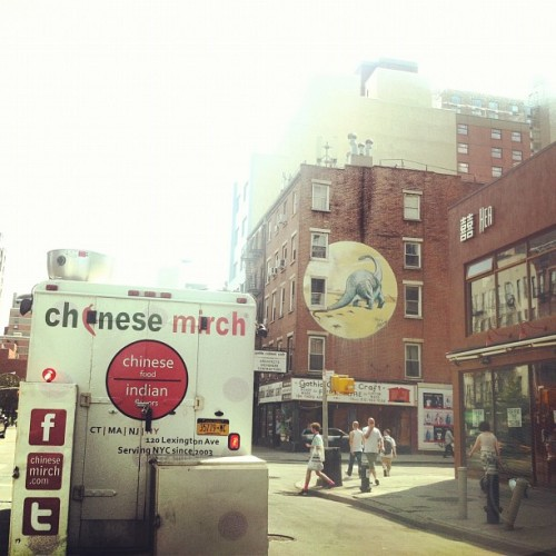 richardcorderophoto:  #nyc #manhattan #foodtruck #chinesemirch (Taken with Instagram)   Stop by the #NYPL and #BryantPark for lunch. The featured food truck is #ChineseMirch. Come by from 11-3 and taste their delicious food!