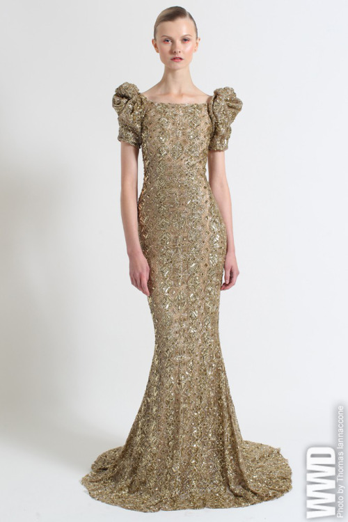 womensweardaily:  Marchesa Resort 2013 Looking to their country-home gardens, as well as childhood memories of a proper English garden party, Georgina Chapman and Keren Craig whipped up a whimsical and romantic collection that was classic Marchesa.  For More