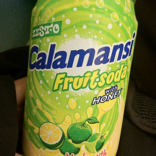 Calamansi soda mmmmmm (Taken with Instagram)