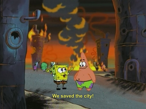 we saved the city