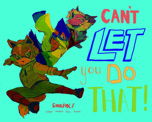 groovy colors + action poses + cool lettering = win + starfox = MAJOR WIN