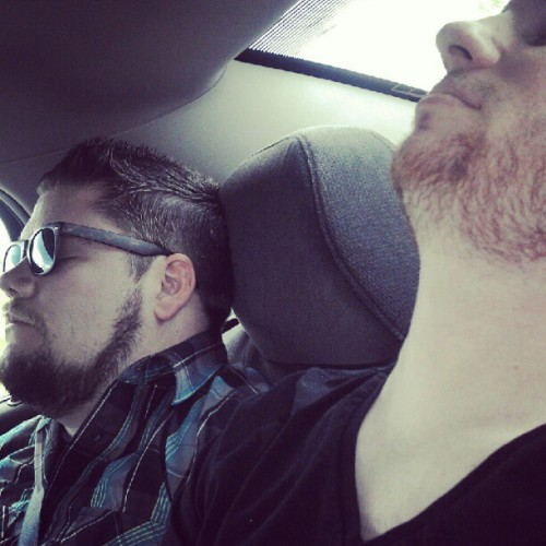 Tired bros are tired.  (Taken with Instagram)