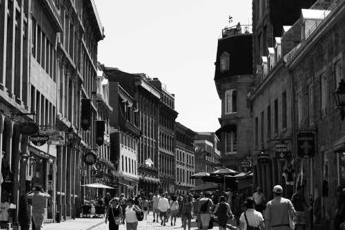 kim-pee:  strolling the streets of Old Montreal