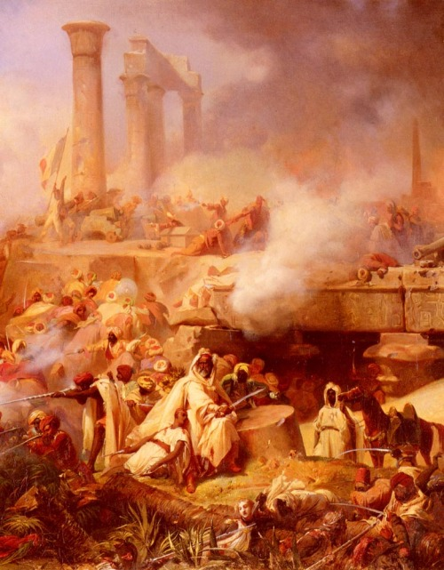 Battle of Heliopolis - Leon Cogniet