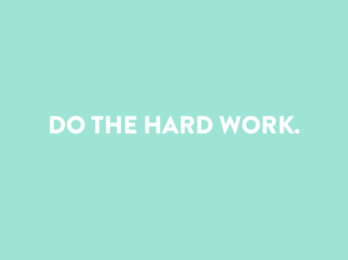 "Do the hard work. Period. Today's Making Brands Happen Webinar: Powerful Branding was remarkable. Join us next week for The Client Experience. My favorite point from today… ""It's about making a life that means something."" Its WORTH it to do the hard work!! Emily"