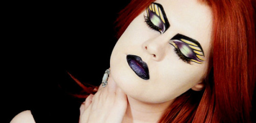 Check out the video tutorial for this amazing butterfly makeup look by Ashley D.!