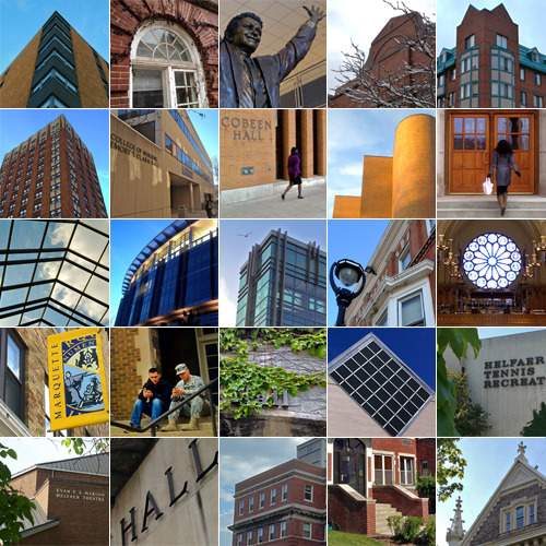 I've reached the halfway point for the Marquette Campus A to Z photo series. See all of the building photos and factoids to date.
