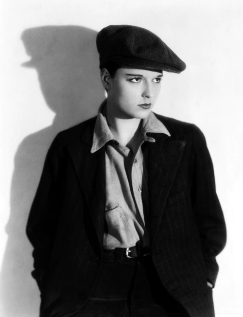 "Women in suits - Louise Brooks in ""Beggars of Life"" 1928 link"