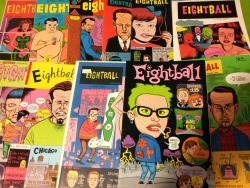 My Eightball collection. I was lucky to find all of these at the same time.