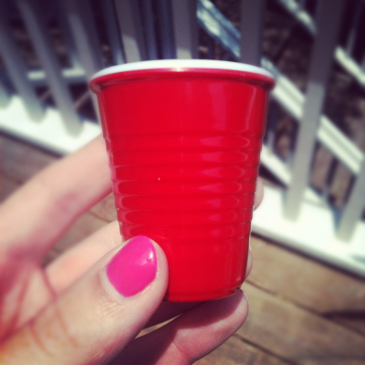 Red solo shot, let's have a party