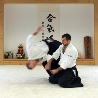 "I am thinking about Aikido                   ""Thinking about this to get me into shape and make me feel more comfortable with going out in public due to my anxiety, to know how to protect myself would help alot, not to use in a bad way, just to k…""                                Check-in to               Aikido on GetGlue.com"