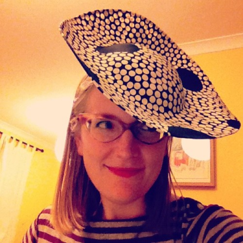 Today I bought a fabulous hat. #happyday (Taken with Instagram)