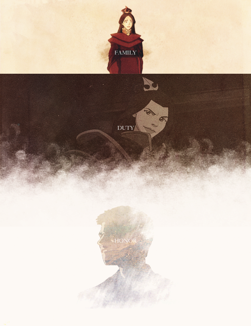[atla + asoiaf] Family, Duty, Honor. Is that the right order?