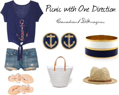 canadain1dimagines:  Picnic by canadian1doutfits featuring nautical jewelry
