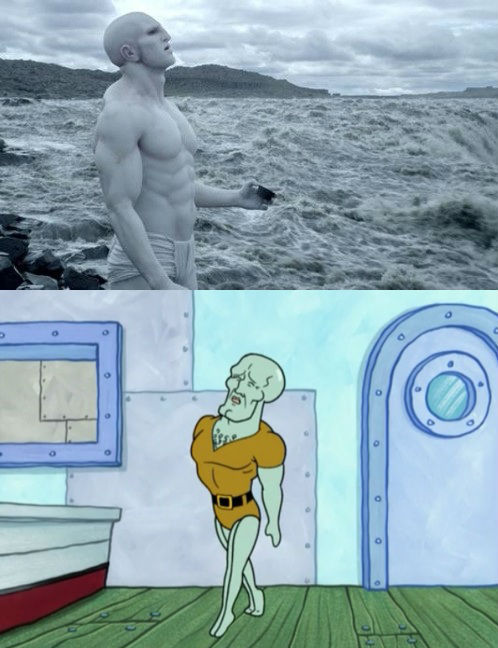 vakarianismybro:  Engineers = Handsome Squidward
