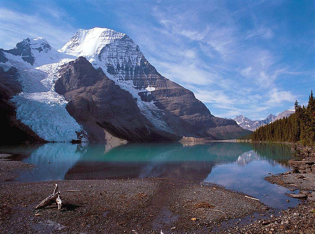 Mt. Robson in British Columbia by photo61guy on Flickr.