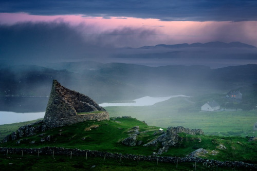 weshallneverstop:  Stone Age Carloway Broch, Isle of Lewis, Scotland  |  JC Richardson
