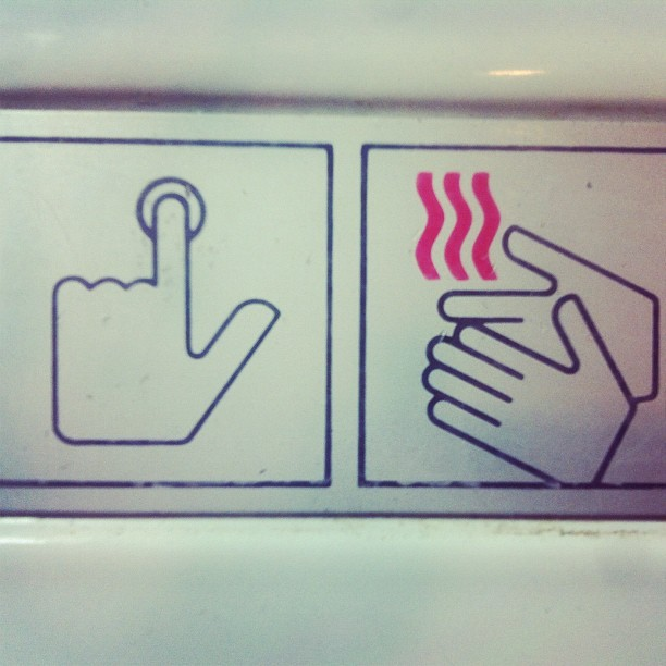 Push button, receive bacon. (Taken with Instagram)