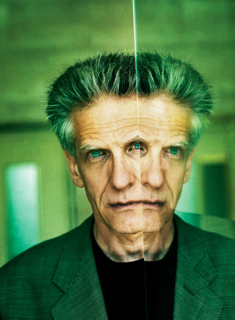coffee-for-two:  David Cronenberg, 2002 Photograph by Nicolas Guerin