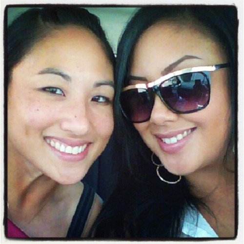 QT w/ my Sissyface today :) #tohellandback <3 (Taken with Instagram)