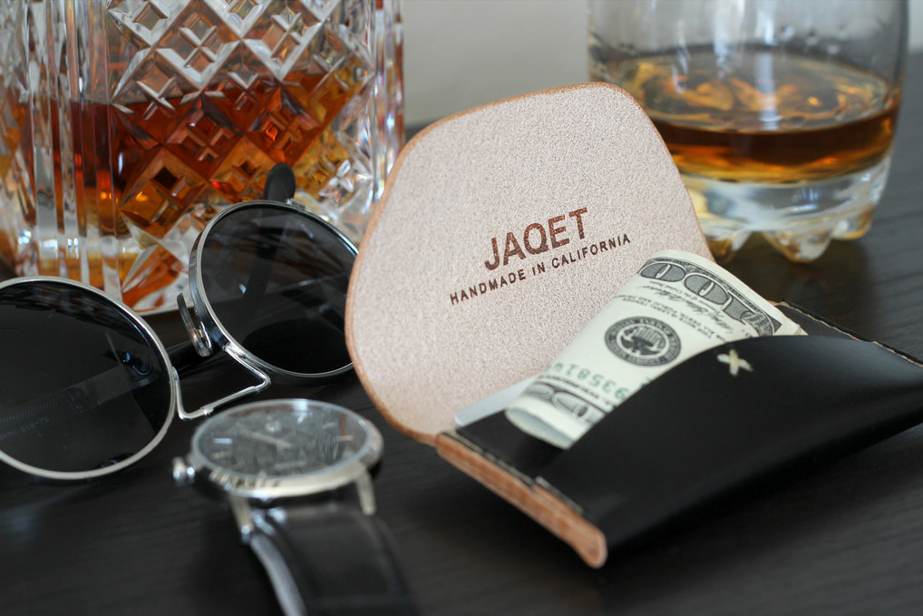 "I WANT ONE!! Jaqet Wallets Hand made in California, these wallets are a new favorite. To celebrate the launch, the've released the ""jaqetlaunch"" discount code, giving you 25% off your entire purchase. Head over to the site to learn more. We found the ""Process"" page particularly interesting."
