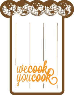 "Logo I designed for ""We Cook You Cook"", a company that send chefs from around the world to your kitchen to teach you how to cook their countries famous dishes as well as their own family recipes. Website will be live shortly!"