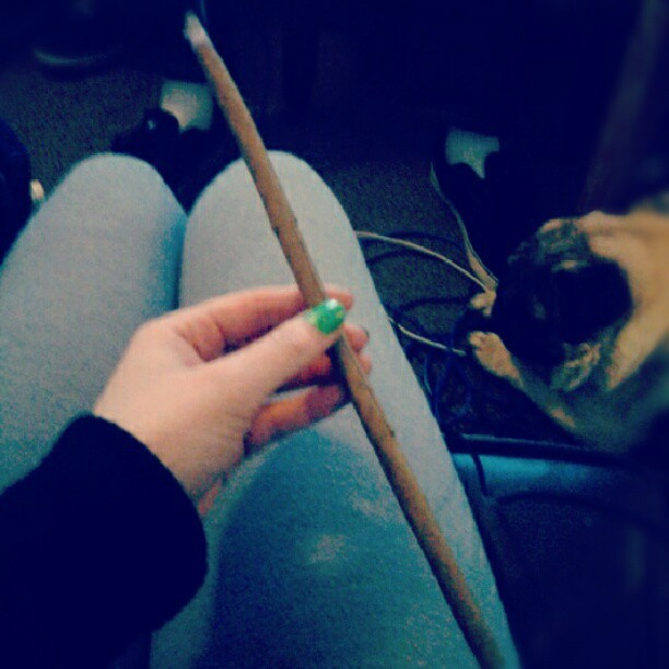 you-callme-lavender:  Yessterdayy (Taken with Instagram)   how i roll