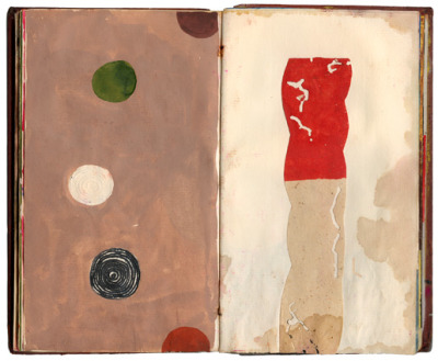 artspotting:  Jeffrey Decoster, Spill Book