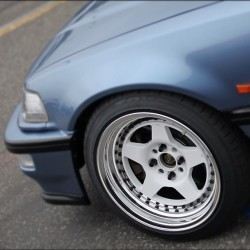 #Osaka #JDM #WorkWheels #CR1 on @jdmwong's #EF9 #Civic for #wheelwednesday! (Taken with Instagram)