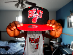 coutureandbows:  So happy we won yesterday, Thunder«< Heat